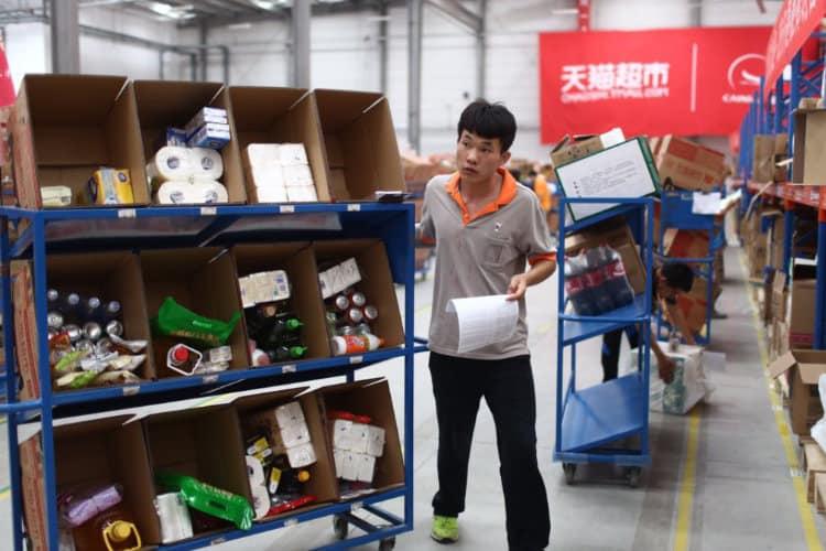 Image: Alibaba Group   Fulfilment Center