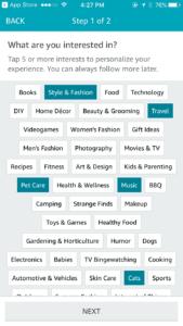 Image: Richard Meldner   Amazon Spark Select Interests