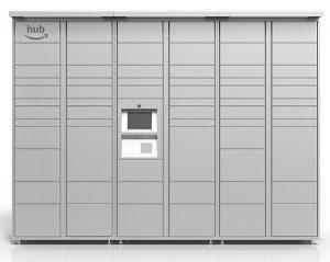 Image: Amazon | The Hub Modular Parcel Locker