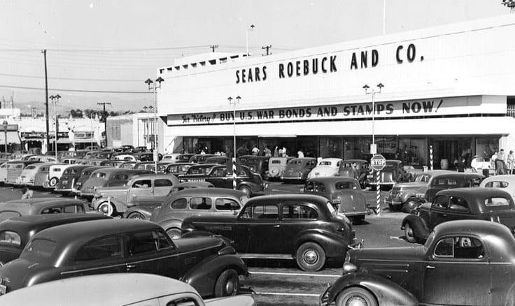 Image: Sears   Sears Store in LA 1943