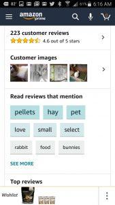 Image: Richard Meldner | Amazon Mobile App Customer Reviews Keywords