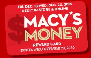 Macy's Money