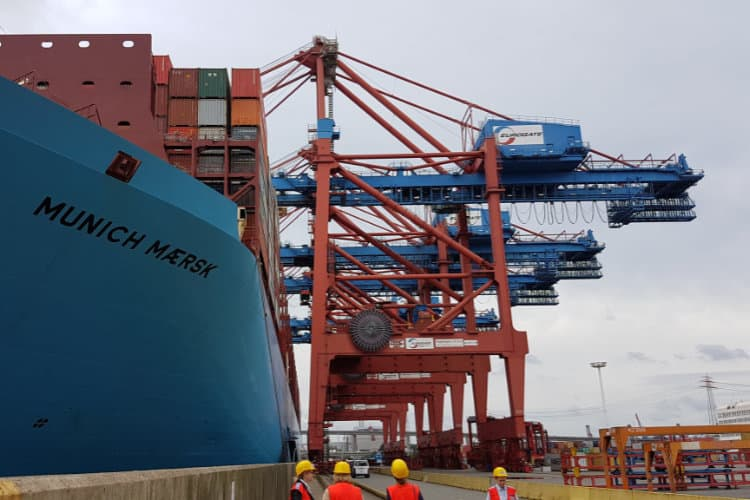 Image: Maersk Line   Maersk Munich Container Ship