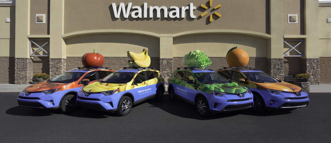 Image: Walmart | Delivery Vehicles