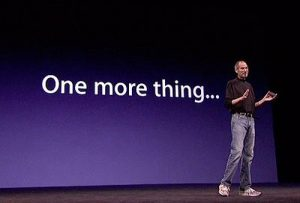 one more thing steve jobs