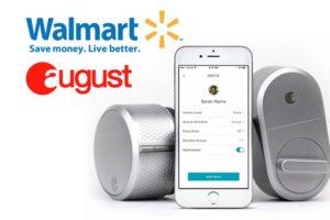 walmart august smart lock entry system 1
