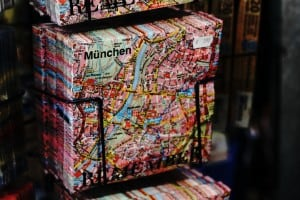 munich old style map display