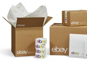 ebay branded shipping supplies boxes tape packets