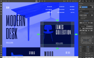 webflow home page designer