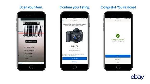ebay bar code app selling update