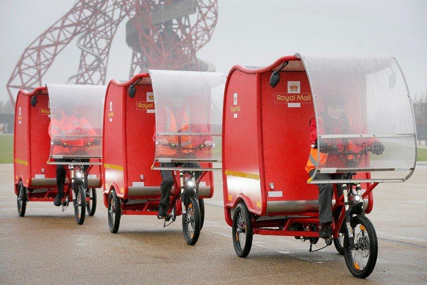 Royal Mail e-Trikes