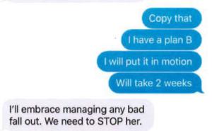 eBay Executives Text Messages
